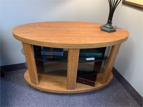 Contemporary Oval Sofa Table