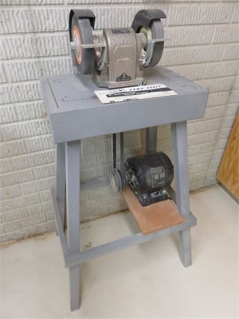 POWR-KRAFT 6-inch Bench Grinder