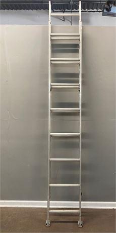 Werner Saf-T Master 16 foot Metal Extension Ladder