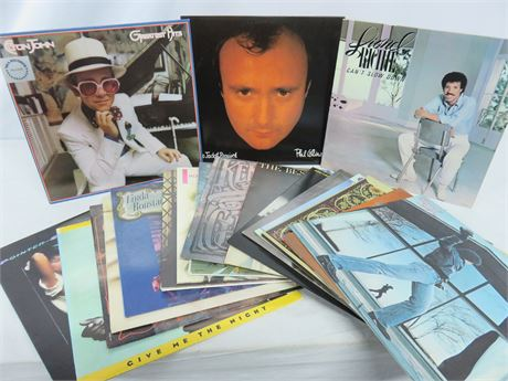 Vintage Rock/Pop Record Album Lot