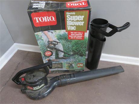 TORO Electric Super Blower Vac