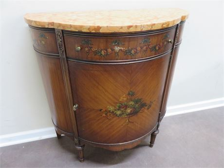 JOHNSON HANDLEY JOHNSON French Demilune Table