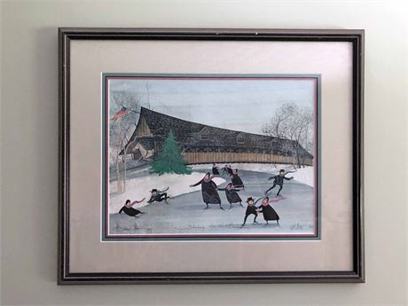 P. Buckley Moss Signed Limited Edition