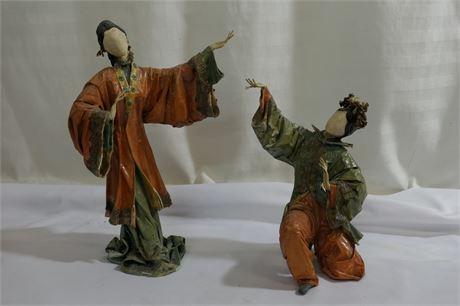 Dancing Papier-mâché  Figures