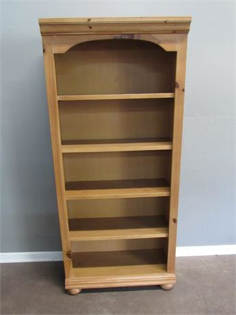 Broyhill Knotty Pine 5 Shelf Bookcase