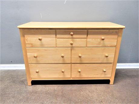 Stanley Oak Three Drawer Dresser