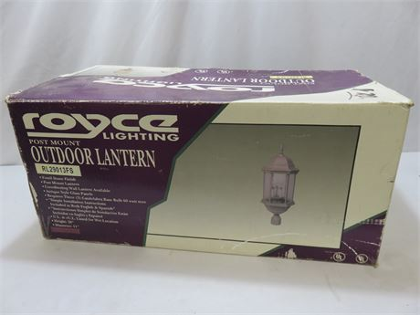 ROYCE Post Mount Outdoor Lantern