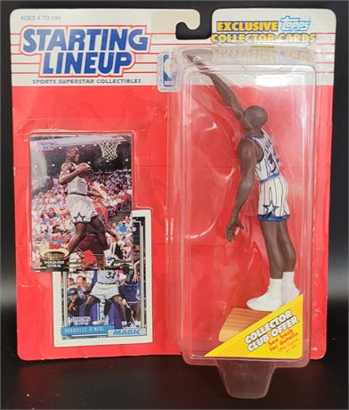 SHAQUILLE O'NEAL STARTING LINEUP ROOKIE ORLANDO MAGIC TOPPS ROOKIE CARDS