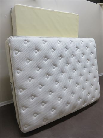 SEALY Ultra Plush Pillow Top Queen Mattress / Box Spring