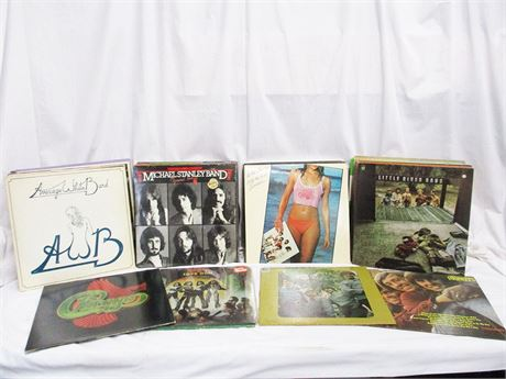 MORE THAN 60 LPs FEATURING KISS, MICHAEL STANLEY BAND, AND THE MONKEES