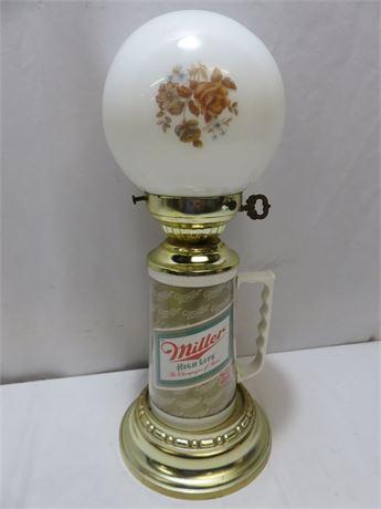 Vintage Miller High Life Beer Stein Lamp