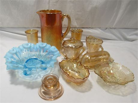 10 Piece Misc. Glass Lot