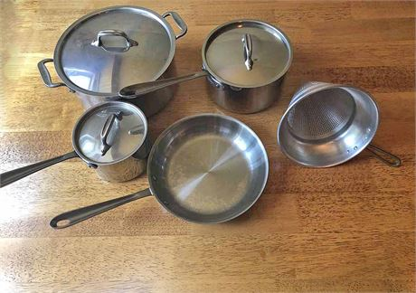 New All Clad Cookware