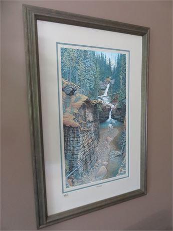 """Signed Art Print """"Up A Creek"""""""
