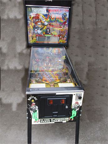 "BALLY ""PARTY ZONE"" PINBALL MACHINE - 1991"