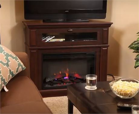 STYLE SELECTIONS Wall/Corner Media Electric Fireplace