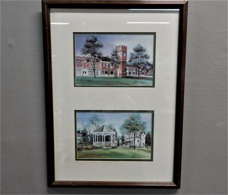 Gretchen Bierbaum Hudson Signed Numbered (9/2,000) Print Framed