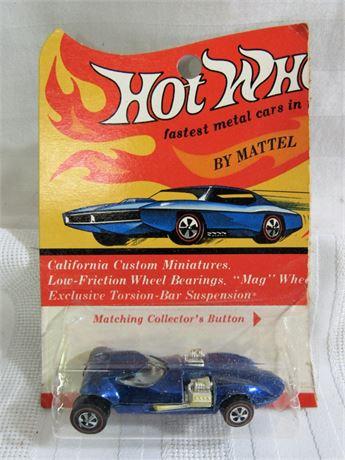 1969 Mattel Hot Wheels RedLine - Blue TwinMIll - NIP