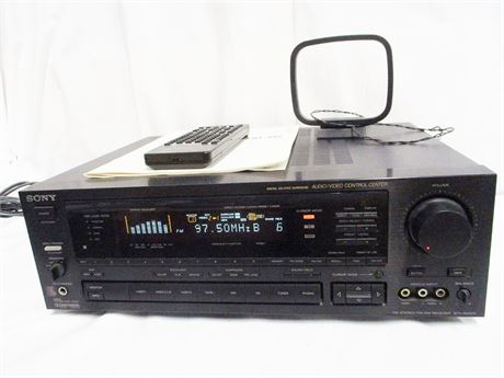 SONY STR-AV1070X AM/FM RECEIVER WITH REMOTE