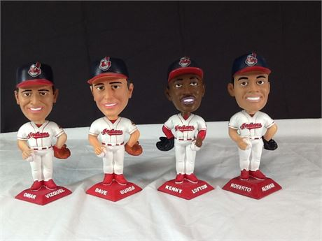90s Cleveland Indians Bobbleheads