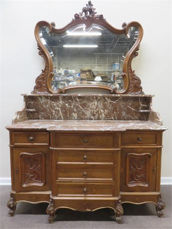 Antique Victorian Dresser