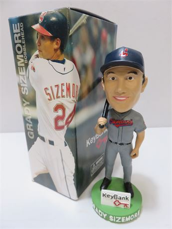 2006 Cleveland Indians GRADY SIZEMORE Bobblehead