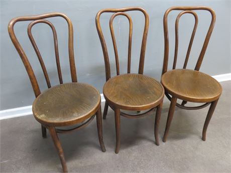 Vintage Bentwood Parlor Chairs