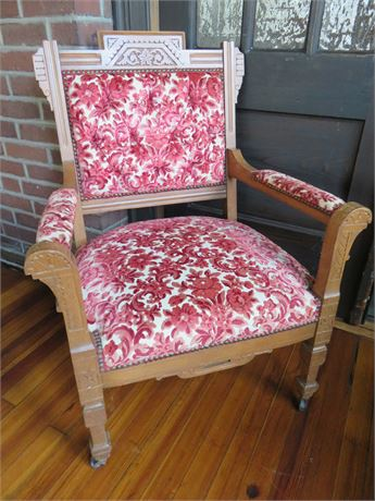 Vintage Arts and Crafts Style Arm Chair