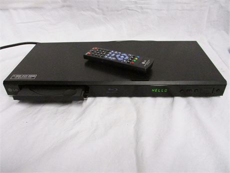 LG BP320 BLU-RAY/DVD PLAYER WITH REMOTE