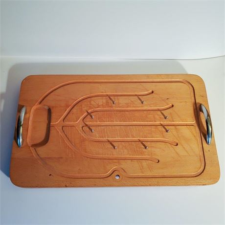 Vintage Meat Carving Station