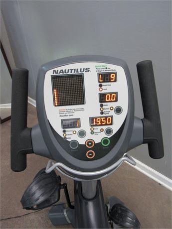 Nautilus NR2000 Recumbent Exercise Bike