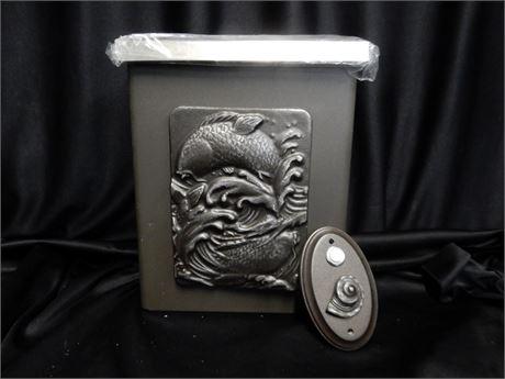 Vintage Look Metal Mail Box
