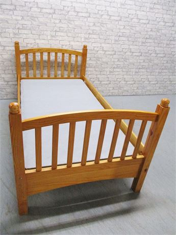 TWIN BED (NO MATTRESS)