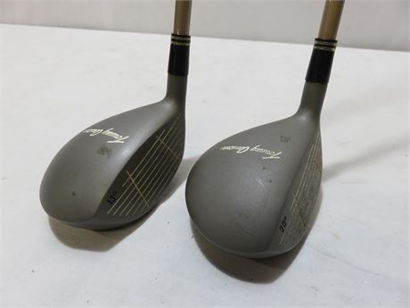TOMMY ARMOUR 845S Silver Slot 3 Wood & 5 Wood - Right Handed