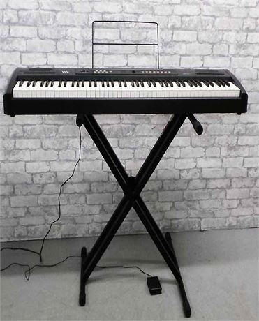Williams Electric Keyboard with Proline Adjustable Stand