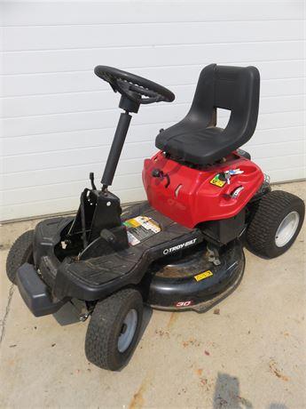 TROY-BILT 30-inch Riding Lawn Mower