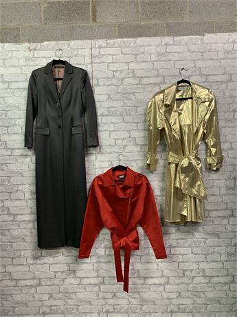 Timeless Style, Lot of 3 Classy Outerwwear