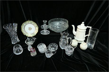 Lot of Fine Glass & China