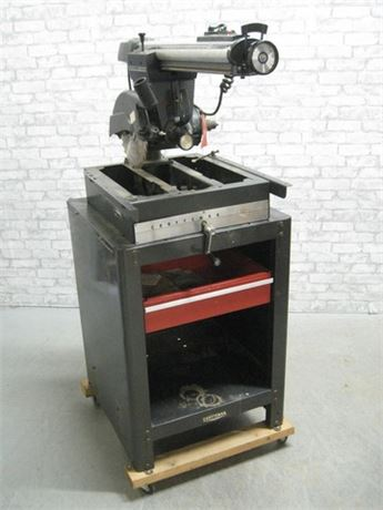 SEARS CRAFTSMAN RADIAL ARM SAW AND DRILL