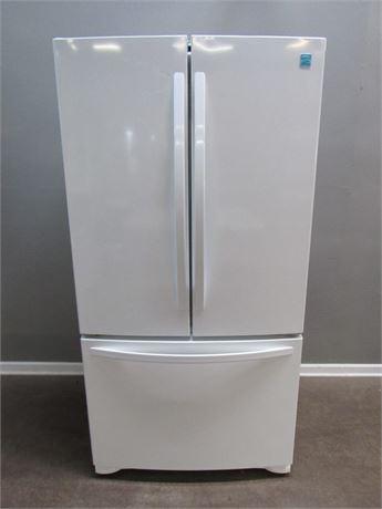 Nice Kenmore French Door Bottom Freezer Refrigerator