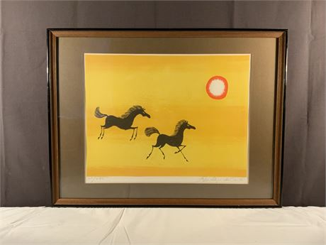 KEITH LLEWELLYN DE CARLO Limited Edition Signed Lithograph