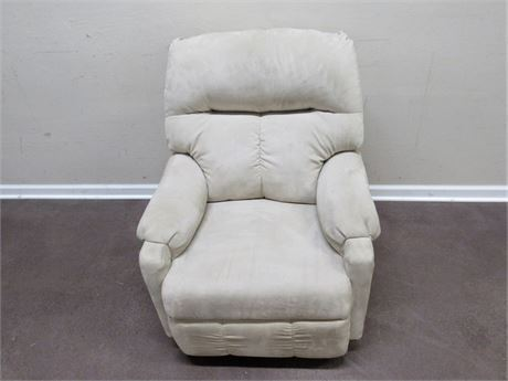 BEST CHAIR CO. MICROFIBER SWIVEL RECLINING ROCKING CHAIR
