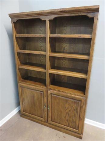 FOREST DESIGNS Oak Bookcase Cabinet