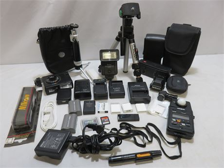 Professional Camera Accessories Lot