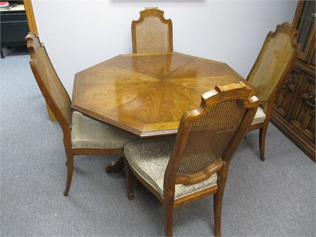 VERY NICE DREXEL TALAVERA DINING SET