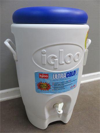 IGLOO Ultra Cold 5 Gallon Beverage Cooler
