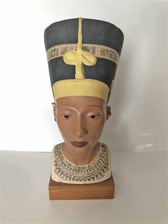 Queen Nefertiti Museum Replica Bust