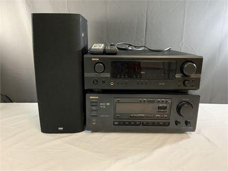 AV Receiver Digital Stereo Bundle