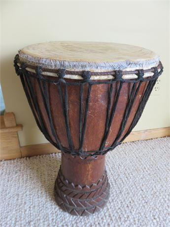 Wooden Djembe Drum