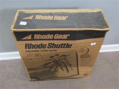 Rhode Gear Rhode Shuttle 3-BIke Carrier